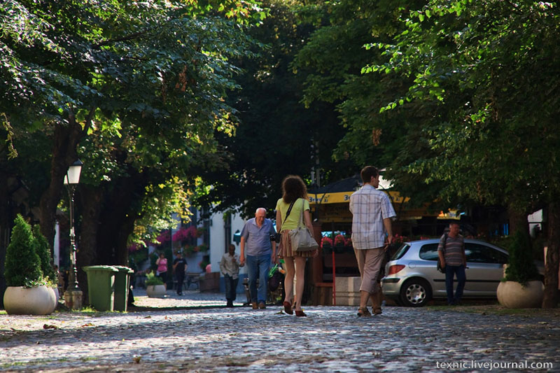 Улица Скадарска в Белграде / Фото из Сербии
