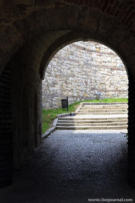 Крепость в Белграде / Фото из Сербии
