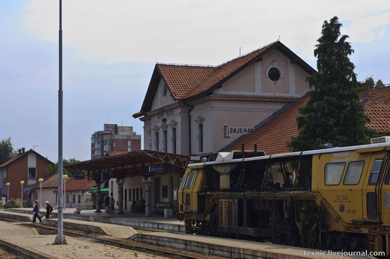 Вокзал в Заечаре, Сербия / Фото из Сербии