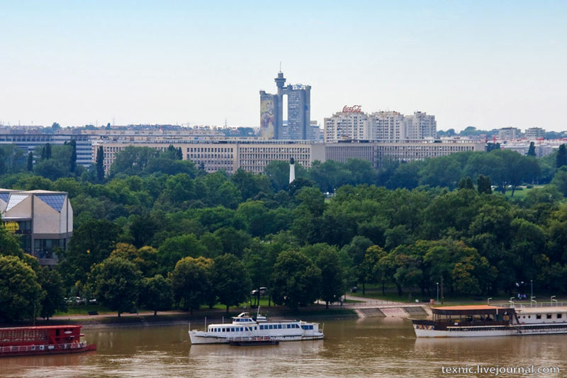 Архитектура социалистических времен в Белграде / Фото из Сербии