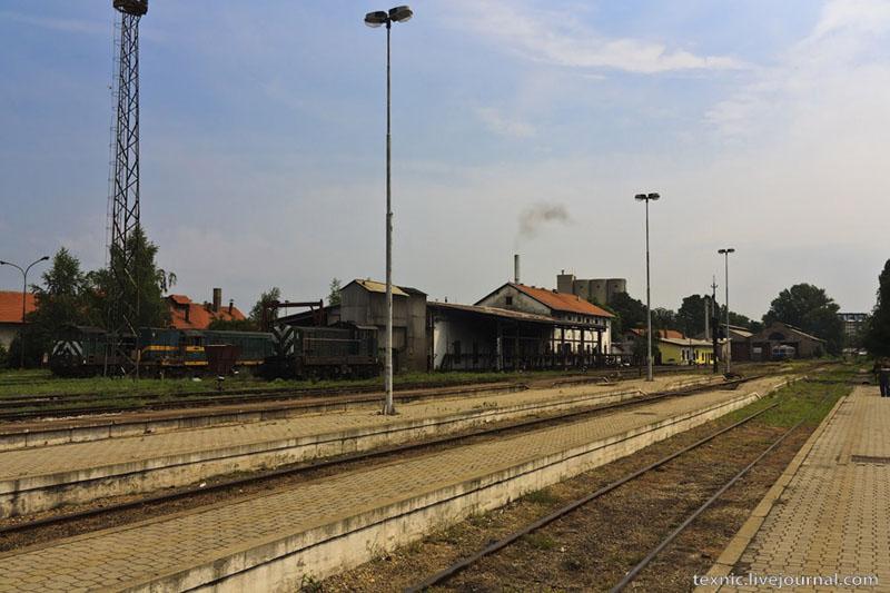 Железнодорожное депо в Заечаре, Сербия / Фото из Сербии