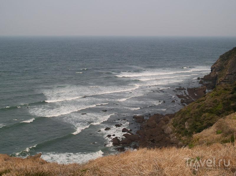 Волны и ветер у берегов Чеджудо / Фото из Южной Кореи