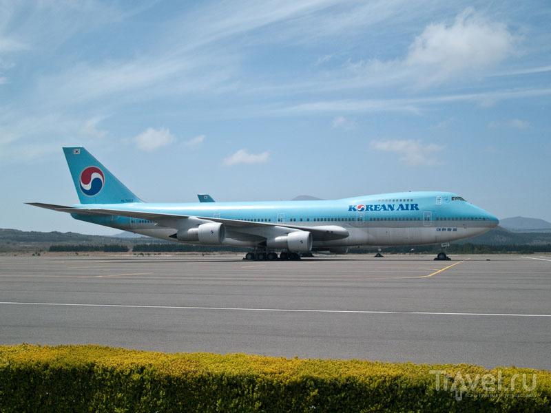 Самолет Korean Air / Фото из Южной Кореи