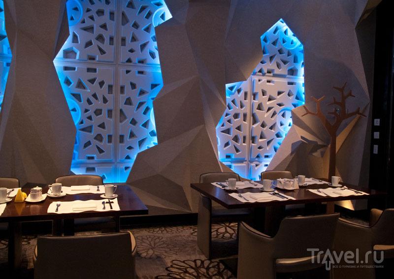 Ресторан для завтраков в отеле Lotte Hotel / Фото из Южной Кореи
