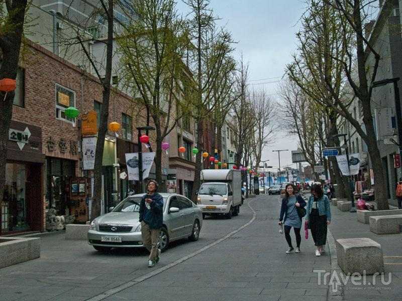 """Улица Insa-dong - """"сеульский Арбат"""" / Фото из Южной Кореи"""