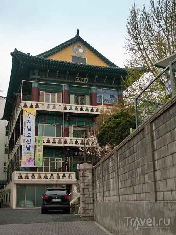 Историческая архитектура к северу от Insa-dong / Фото из Южной Кореи