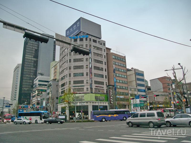 В центре Сеула / Фото из Южной Кореи