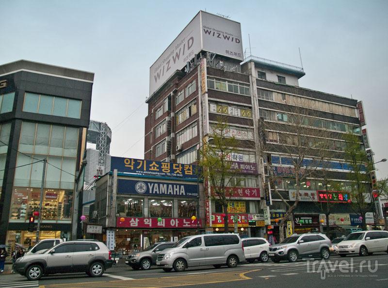 Архитектура в центре Сеула / Фото из Южной Кореи
