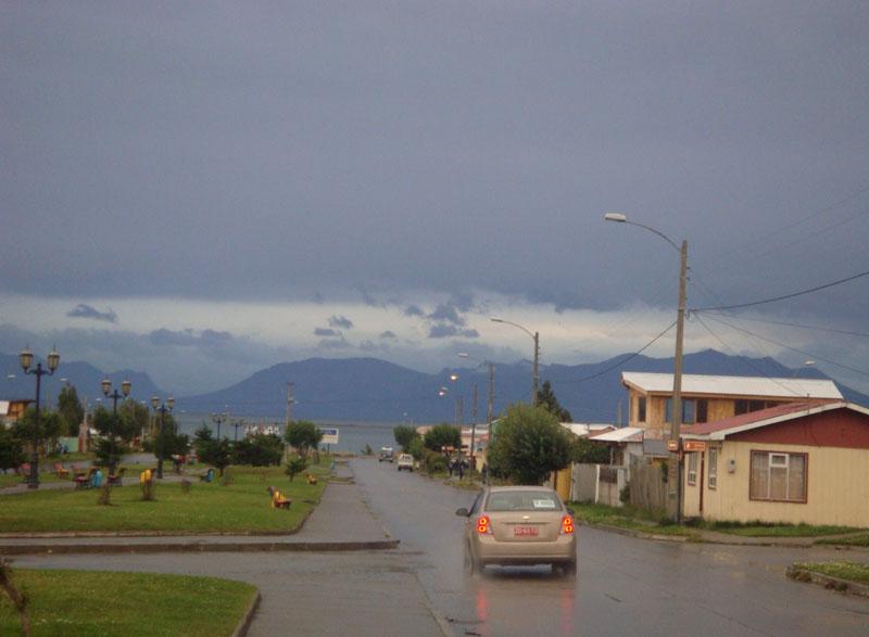 Городок Пуэрто-Наталес, Чили / Фото из Чили