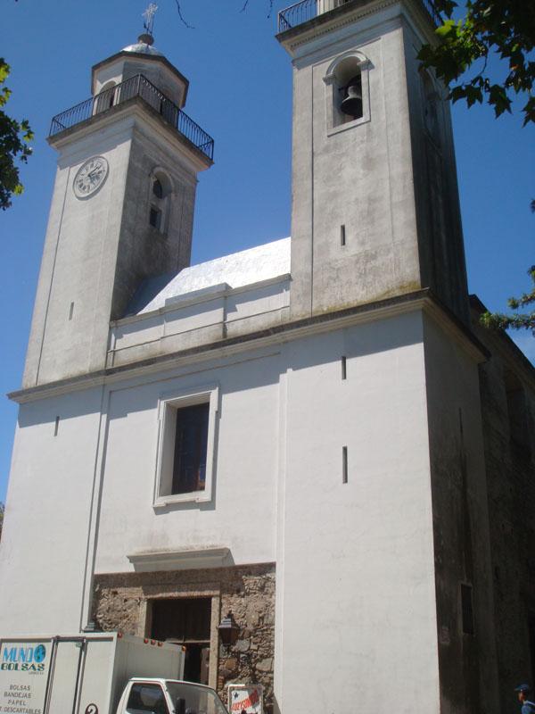 Basilica de Sanctisimo Sacramento в Колония-дель-Сакраменто, Уругвай  / Фото из Чили