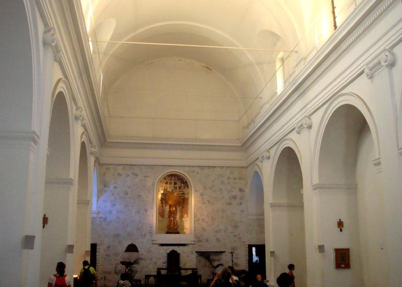 Интерьер церкви Basilica de Sanctisimo Sacramento / Фото из Чили