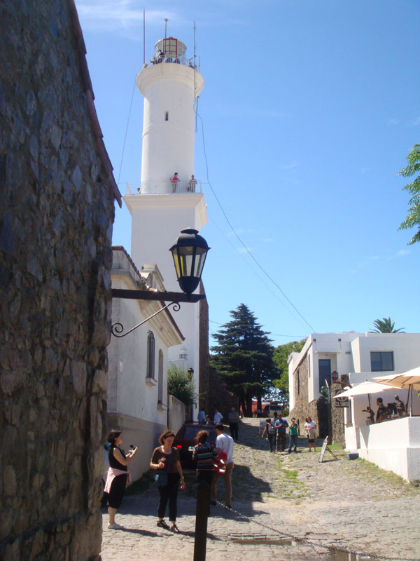 Старый маяк, ныне смотровая площадка в Колония-дель-Сакраменто, Уругвай / Фото из Чили