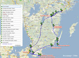 маршрут / Швеция