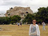отлично видно Акрополь / Греция