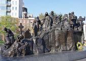 памятник переселенцам / США