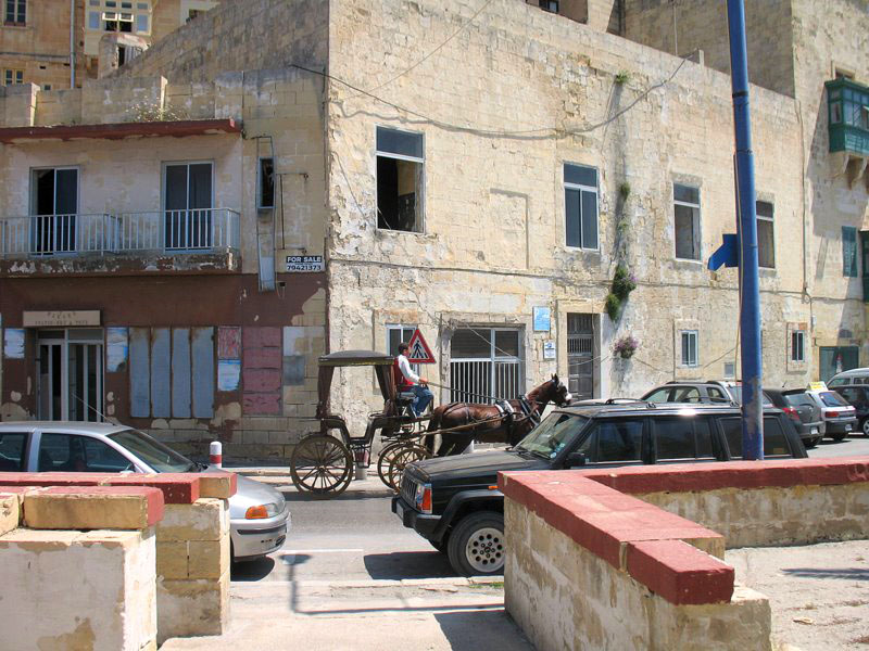Одна из столичных улиц на Мальте / Фото с Мальты