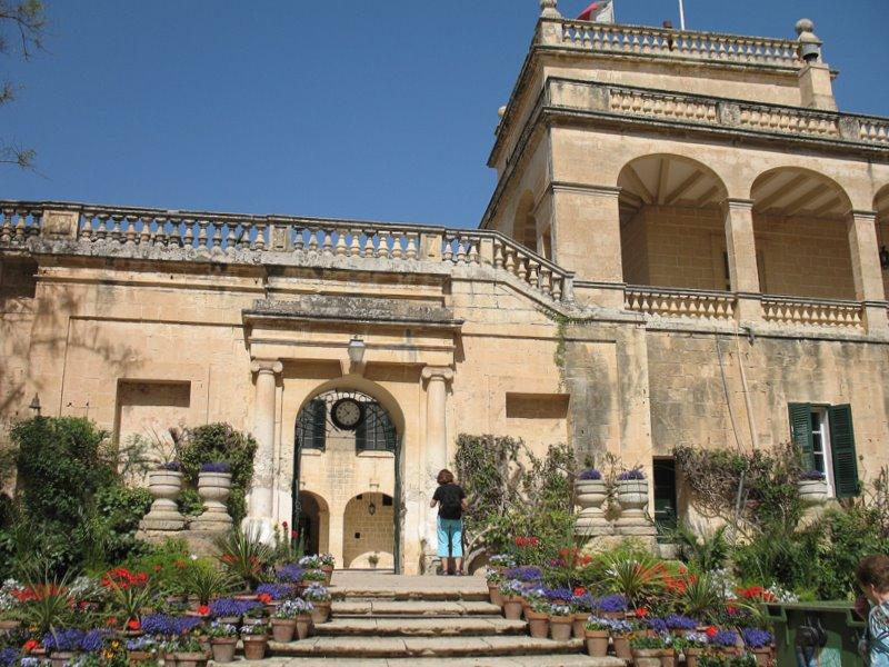 Дворец президента Мальты / Фото с Мальты