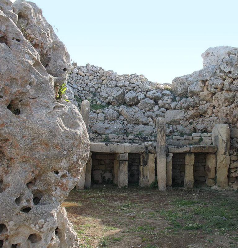 Внутри храма, Мальта / Фото с Мальты