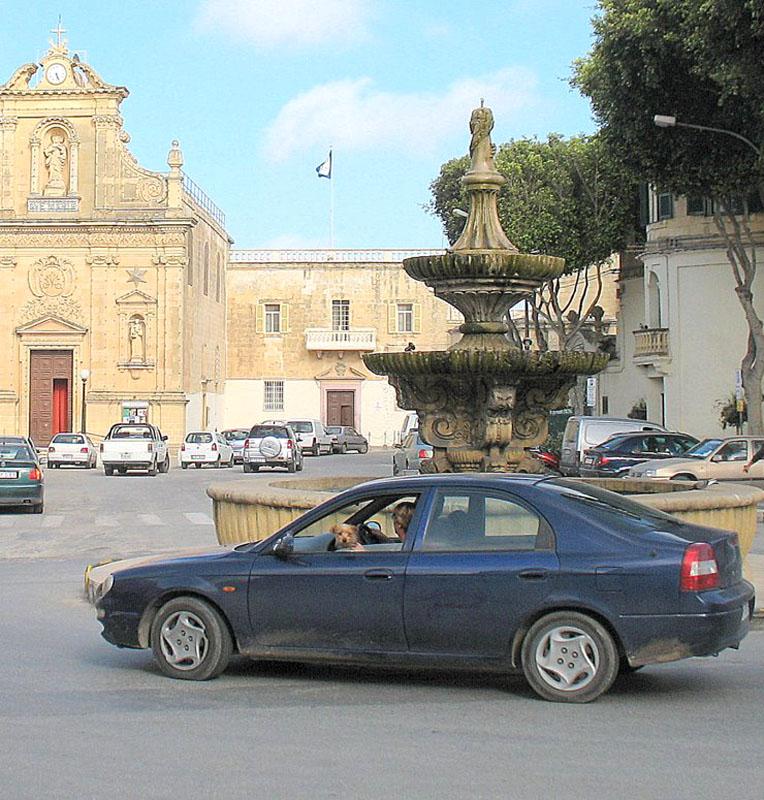 Центральная площадь города Виктория / Фото с Мальты