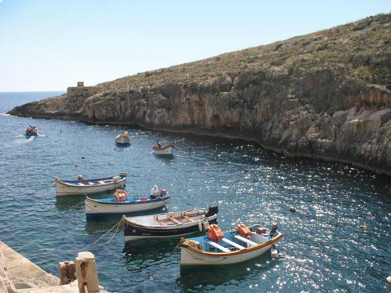Моторки для катания туристов, Мальта / Фото с Мальты