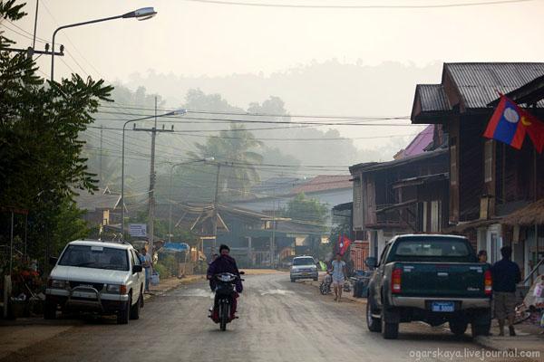 Городок Хуайсай в Лаосе / Фото из Лаоса