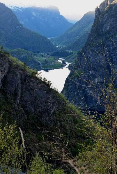 Горный пейзаж Норвегии / Фото из Норвегии