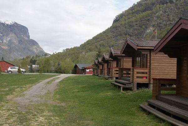 Кемпинг у города Флом в Норвегии / Фото из Норвегии