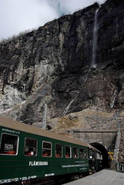 Вагон Фломской железной дороги / Фото из Норвегии