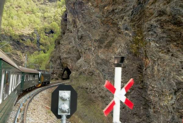 Фломская железная дорога / Фото из Норвегии