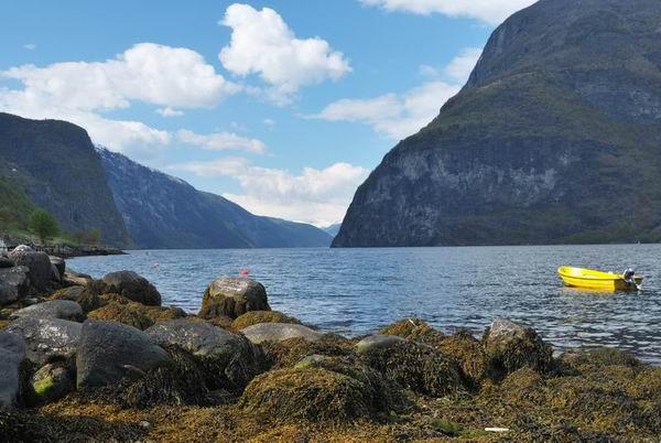 Озеро в Норвегии / Фото из Норвегии