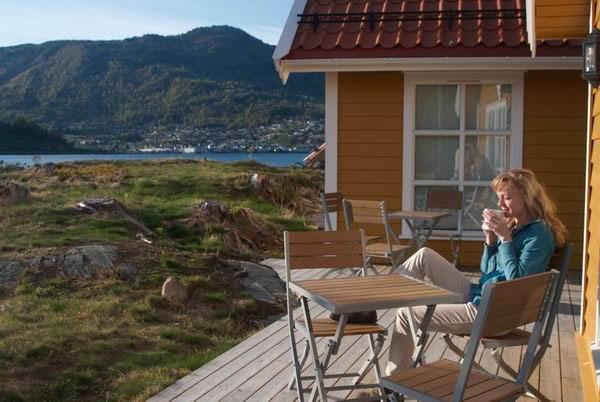 У кемпинга в Согндале / Фото из Норвегии