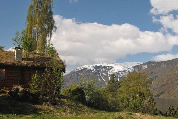 Горы в окрестностях Согндала / Фото из Норвегии