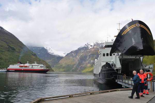 Пристань Ейрангера / Фото из Норвегии