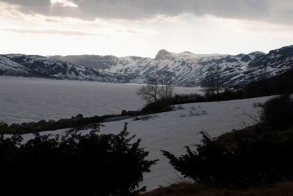 Снега в Норвегии / Фото из Норвегии