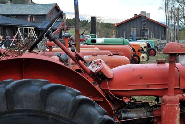 Ретровыставка тракторов в Норвегии / Фото из Норвегии