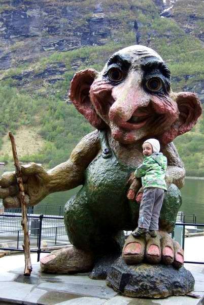Персонаж норвежского фольклора / Фото из Норвегии