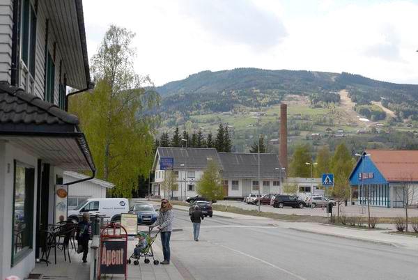 Норвежская деревня / Фото из Норвегии