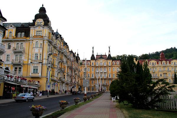 Курорт Марианске-Лазне / Фото из Чехии