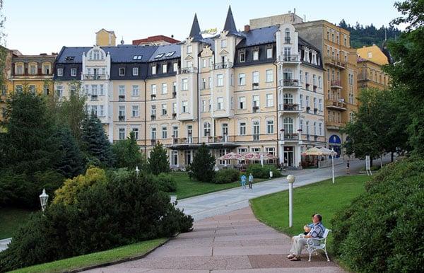 Парк в Марианске-Лазне / Фото из Чехии