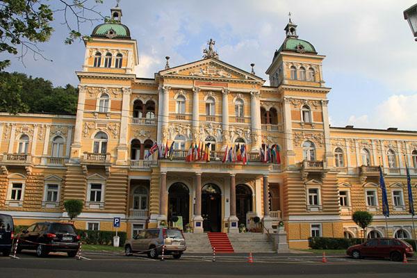 Один из отелей в Марианске-Лазне / Фото из Чехии