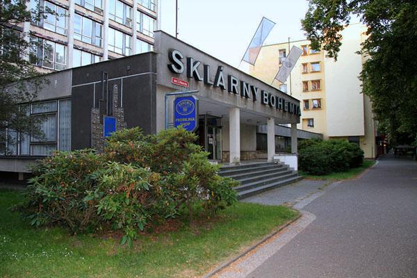Фабрика хрусталя в городе Подебради / Фото из Чехии