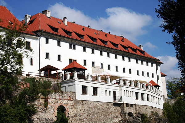 Пристройка к церкви Святого Витта в городе Чески-Крумлов / Фото из Чехии
