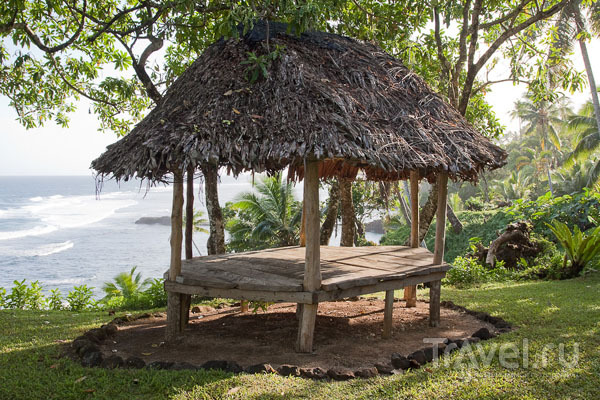 Беседка на Самоа / Фото с Западного Самоа