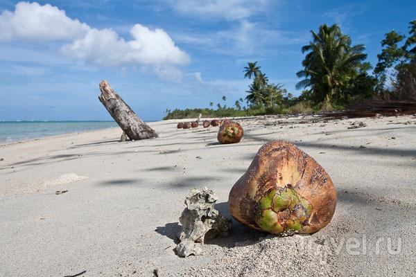 Пляж на острове Уполу, Самоа / Фото с Западного Самоа