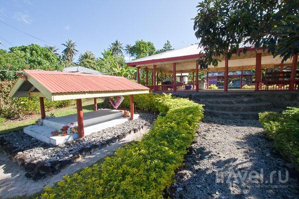 Дома для живых и мертвых на Самоа / Фото с Западного Самоа