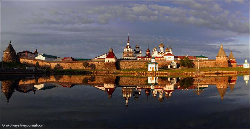Кремль на Большом Соловецком острове / Фото из России