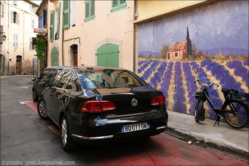 Улица в Провансе / Фото из Франции