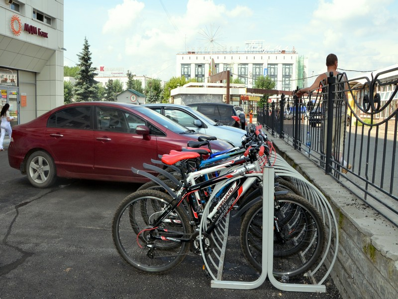 Прокат велосипедов в Перми / Фото из России