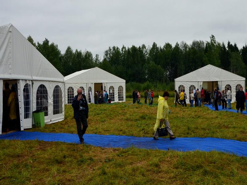 """На  форуме """"Пилорама"""" в этом году опять шел дождь / Фото из России"""