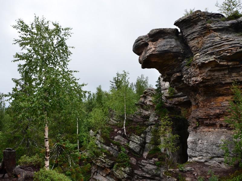 Отроги Каменного города / Фото из России